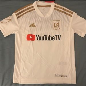 Adidas LAFC soccer jersey. Youth Size: S,M,L,XL